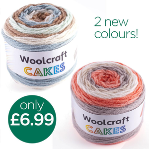 New Woolcraft Cakes in stock!