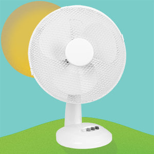 Stay Cool With A Dina Desk Fan
