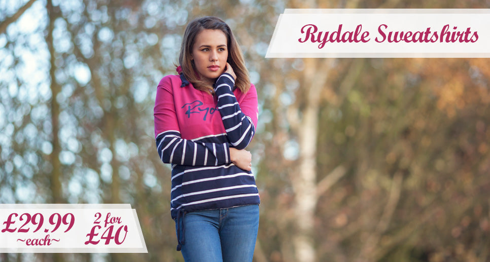 Ladies Ryedale Sweatshirts
