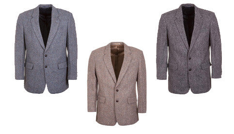 Genuine Harris Tweed Blazers