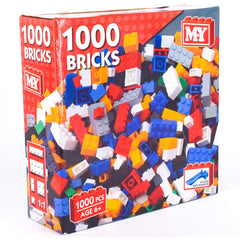 1000 Piece M.Y Building Bricks Set