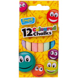 12 Coloured Chalks