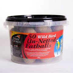 50 Un-netted Fat Balls in Bucket