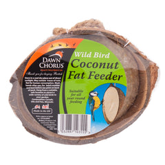 Suet Filled Half Coconut Fat Feeder