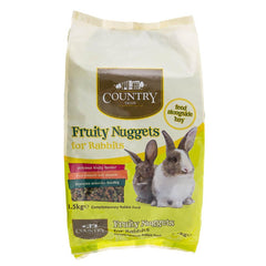 country value rabbit fruity nuggets feed