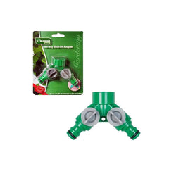 2 Way Shut Off Hose Adapter