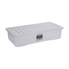 Clear Plastic Underbed Storage Boxes