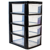Mini 4 Drawer Modular Storage Tower