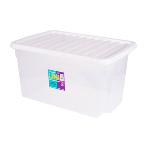 50 Litre Storage Box With WHite Lid