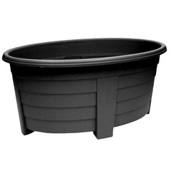 Grosvenor Oval Planter - 55cm Black