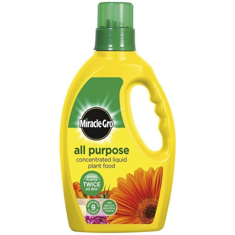 miracle grow all purpose concentrated plant food