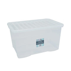 60 Litre Clear Plastic Storage Boxes