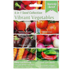 6 In 1 Speedy Seeds Vibrant Vegetables