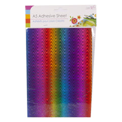 Adhesive Rainbow Sheets A5