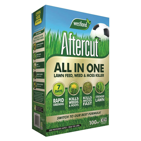 All In One Lawn Feed, Weed & Moss Killer