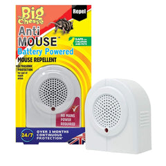 The Big Cheese Anti Mouse Battery Powered Repeller