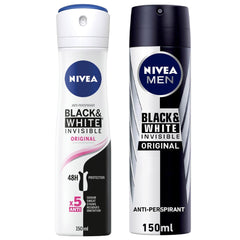 Nivea Anti-perspirant Black & White Invisible Original