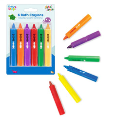 First Steps Bath Crayons 6 Pack