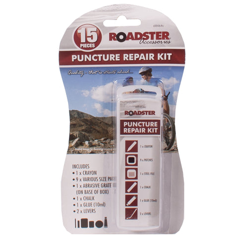 15pc Puncture Repair Kit