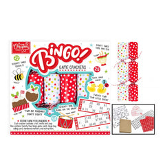Christmas Time Bingo Crackers 6pk