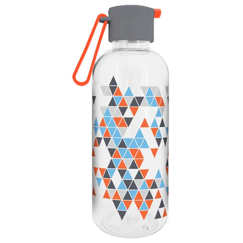 Geo Bottle With Straw 650ml