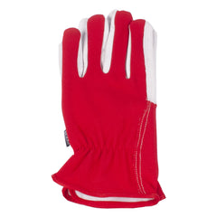 Briers garden gloves lined dual red (med)