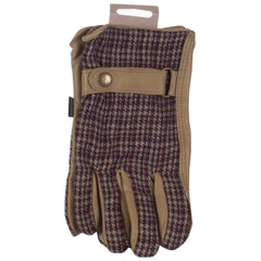 Briers garden gloves traditional checked