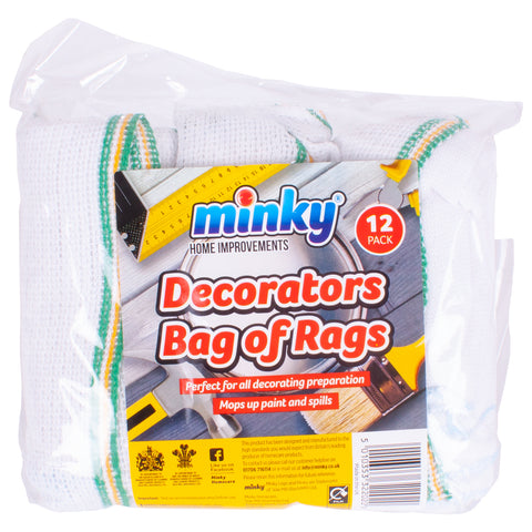 Minky Home Improvements Decorators Bag Of Rags