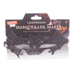 Lightweight Masquerade Black Bat Halloween Mask