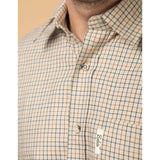 Men's Checked Long Sleeved Shirts - Poacher