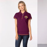 Womens Equestrian Polo Shirt With Team Number