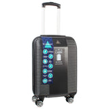Cabin Sized ABS Hard Shell Suitcase