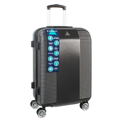 Black ABS Hard Shell Florence Suitcase