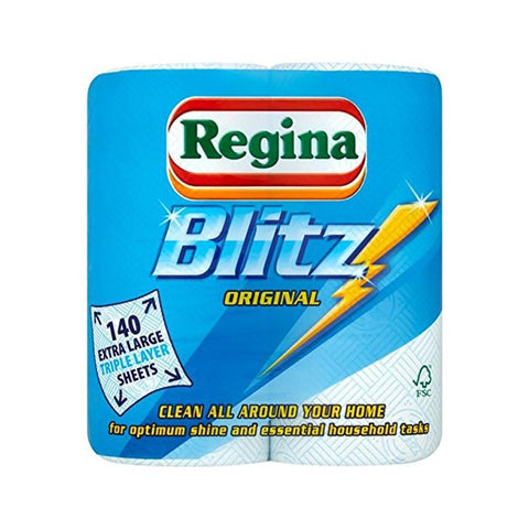 Regina Blitz kitchen Roll 2 Pack