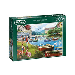 Boating Lake 1000 Piece Jigsaw