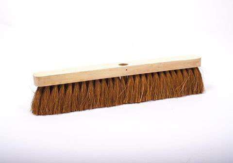 "18"" Sweeping Brush Coco - No Handle"