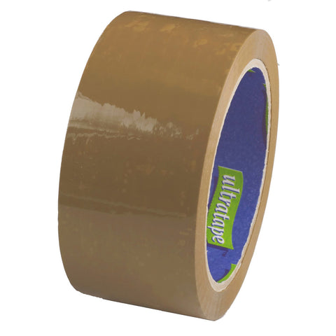 4 Metre Roll Brown Tape