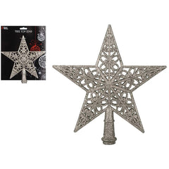 Champagne Gold Tree Topper Star
