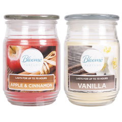 Bloome Perfumes Scented Candles (Cinnamon & Vanilla)