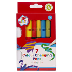 7 Colour Changing Pens