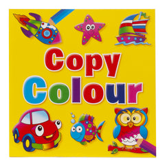 Copy Colouring Book