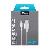 Core Phone Micro USB Cable