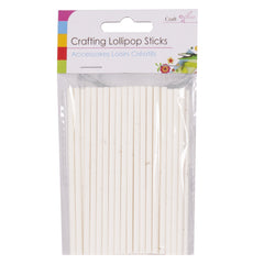 Crafting Lollipop Sticks 50 Pack