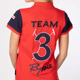 Team Rydale Ladies Polo Tops Red
