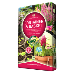 Growmoor Container & Basket Compost 20Ltr
