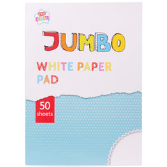 50 Sheets White Paper Pad