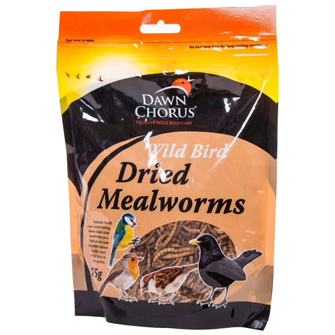 Dried Mealworms 75g