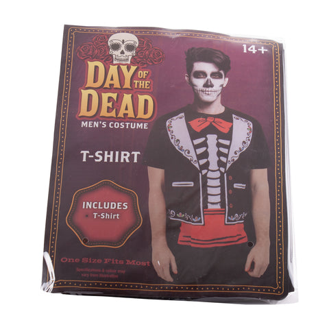 Spooky Halloween Themed Skeleton T-Shirt
