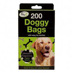 Tie Handle Dog Waste Bags