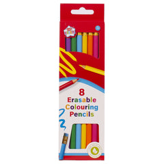 8 Erasable Colouring Pencils